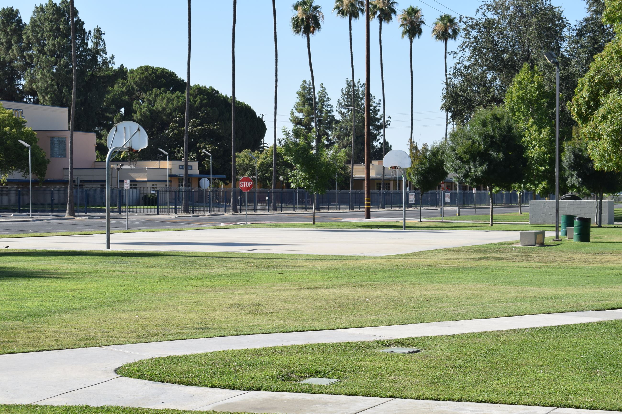 Cecil Park North basketball court