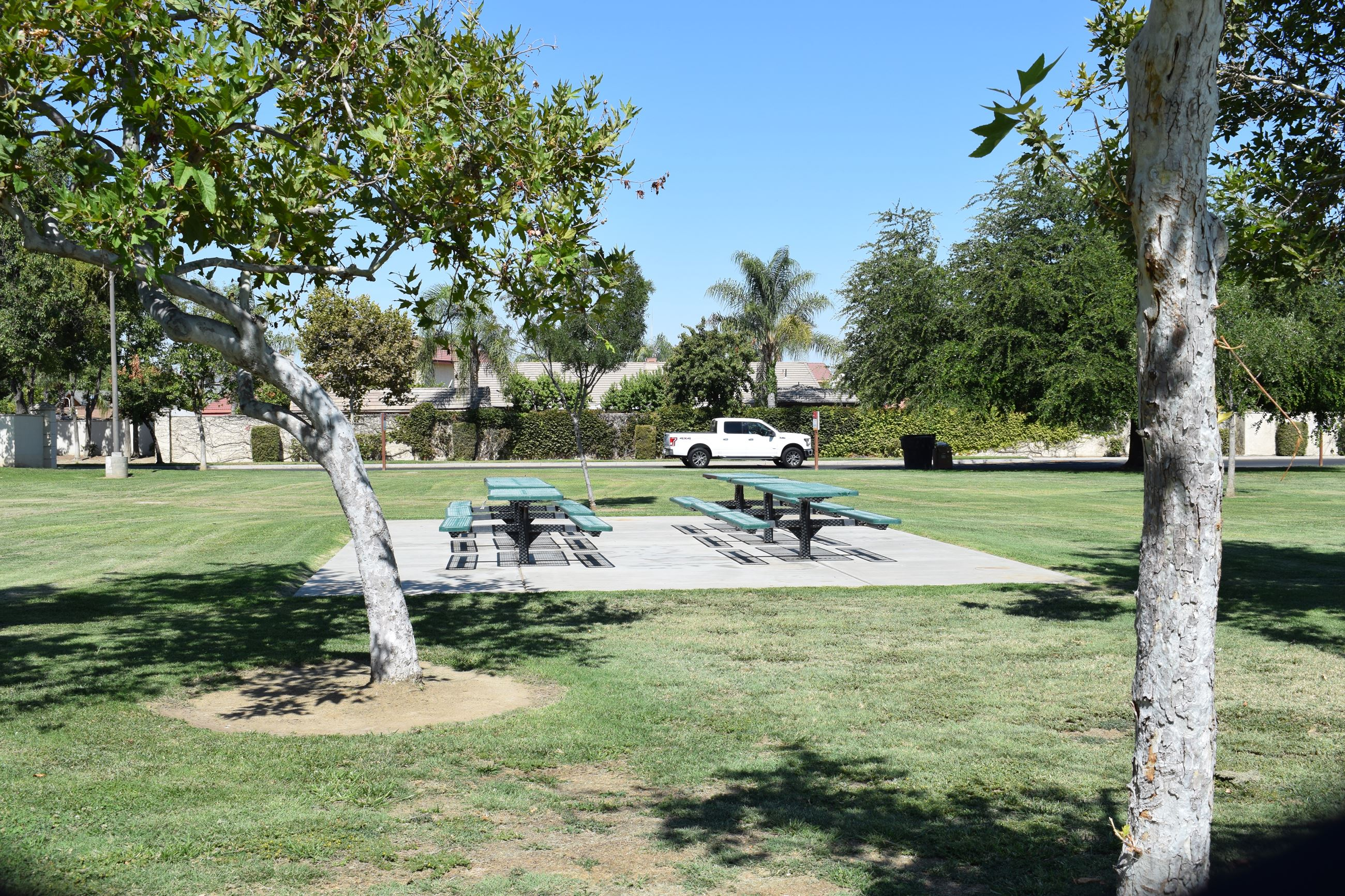 Moringside Park bench area 2