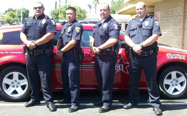 Delano police officers