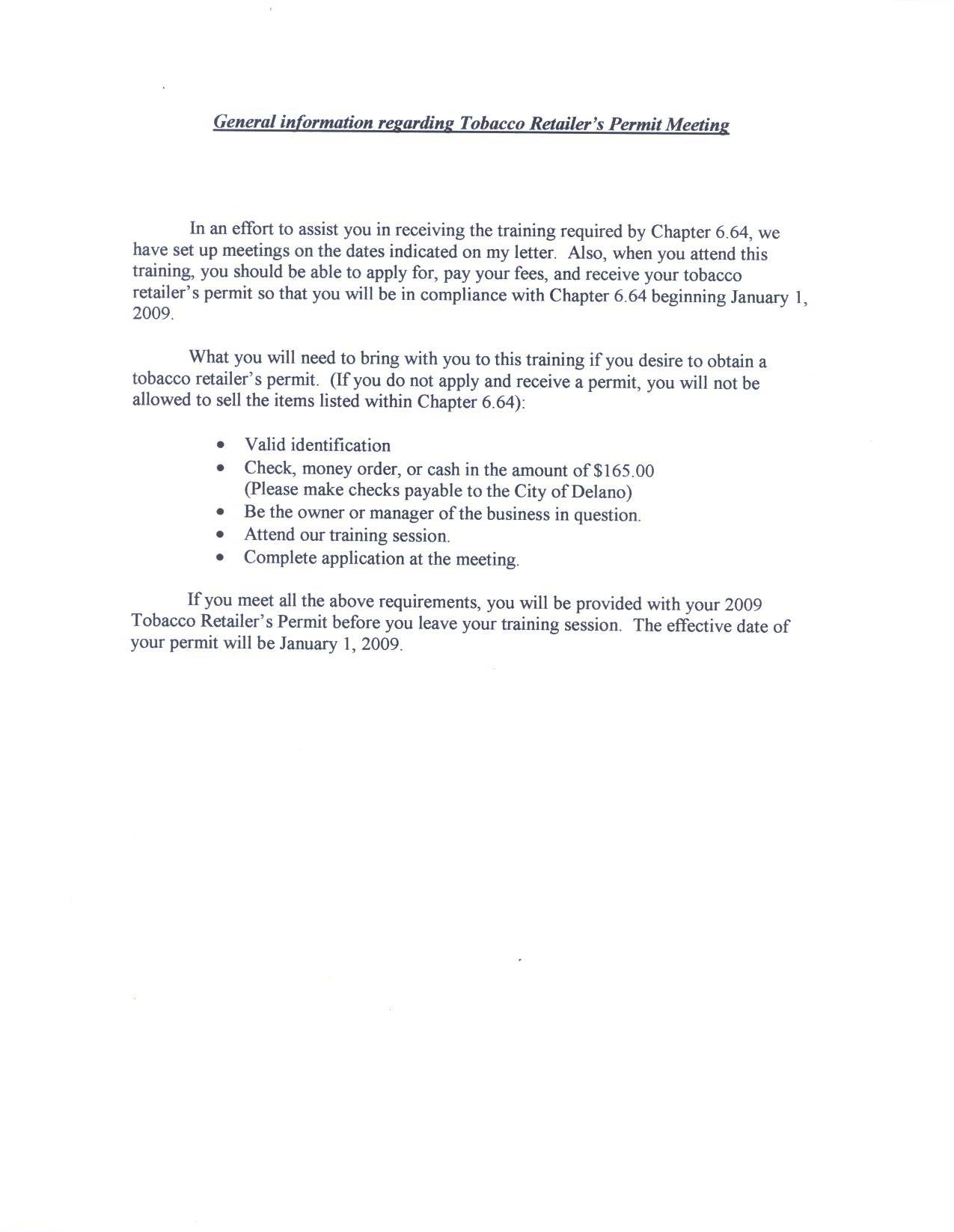 Sample Of Compliance Letter